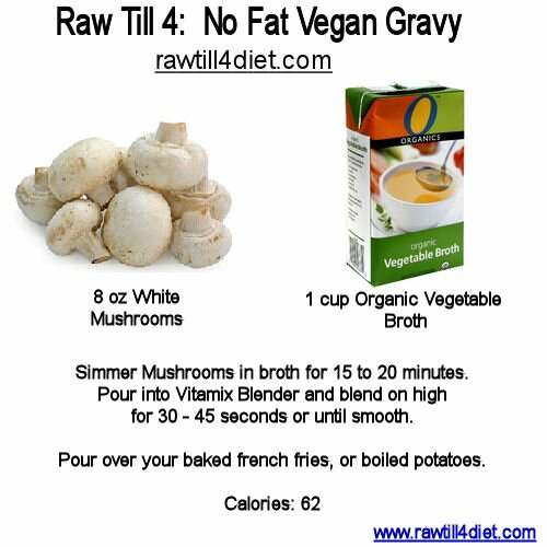 no fat vegan gravy recipe